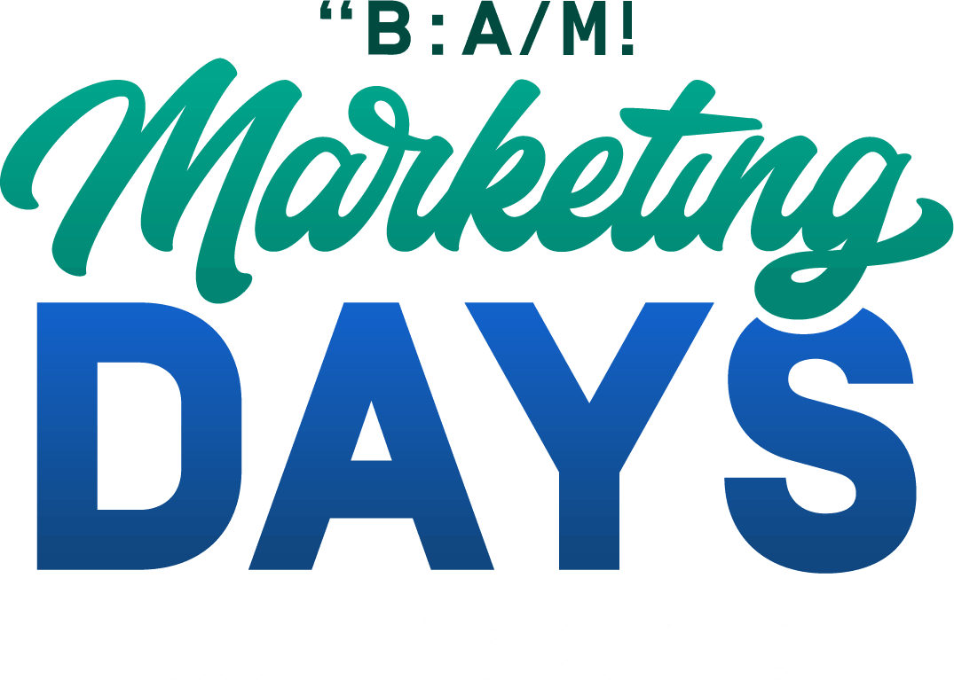 Marketing Days Logo Get Inspired